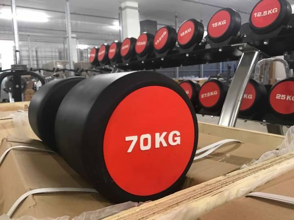 Kurzhanteln bis 70 Kg | HEAVY Round Dumbbells