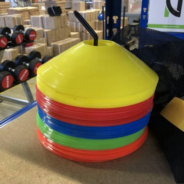 Hütchen Markierungshütchen | 40er Set Cones