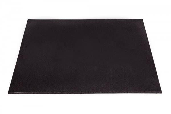 Bodenmatte Gummi 100 x 100 x 1.5 | Fitness Boden