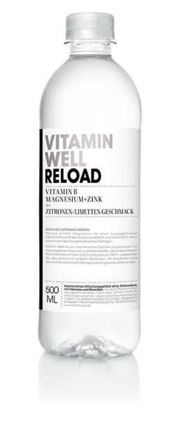 Vitamin Well RELOAD | gesundes Erfrischungsgetränk