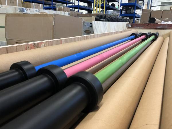 Colored OIympic Bar 20 Kg | Federstahl