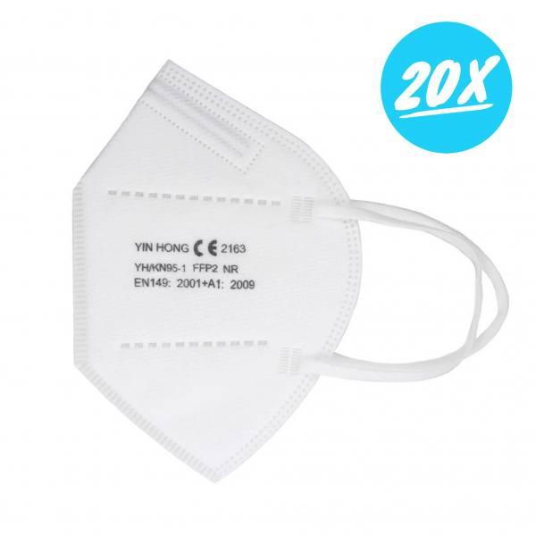 FFP2 Atemschutzmasken | 20er Set Masken