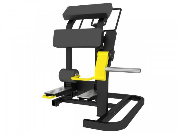 Plate Loaded Standing Leg Curl | Beinbeuger