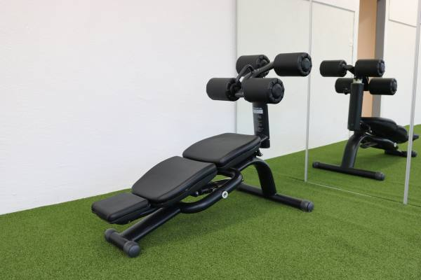 Ab Crunch Bench | Bauch-Training Bank