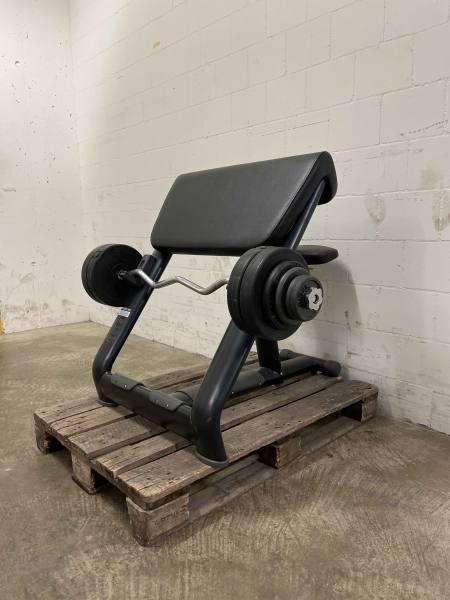 Bizeps Preacher Curl Set | inkl. 35 Kg Gewichte