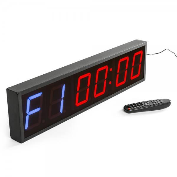 4-stellige Anzeige hochwertiges Aluminium Gehäuse NEU Digitaler Timer