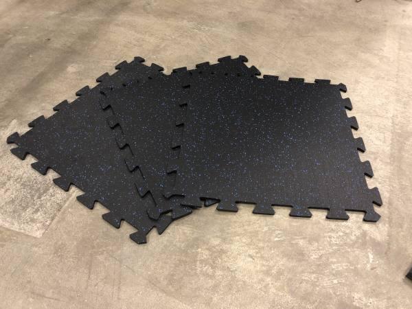 Bodenmatte 0.8 cm | Gummi Fitnessboden