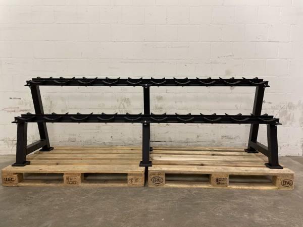 Ständer Kurzhanteln 10-fach | Round Dumbbell Rack